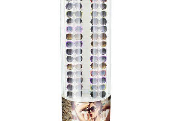 ME015 – Expositor de chão para 36 óculos (linha premium)