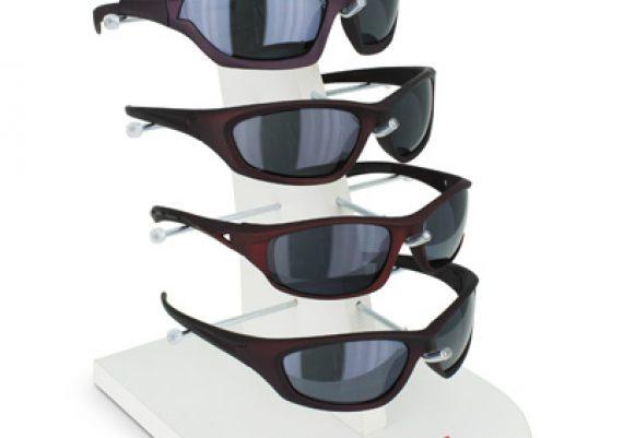 ME025 – Expositor de vitrine para 5 óculos