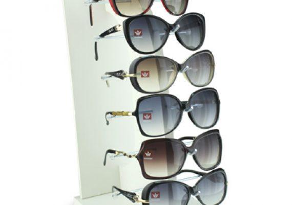 ME041 – Expositor de vitrine para 6 óculos