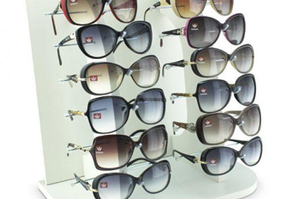 ME045 – Expositor de balcão para 12 óculos