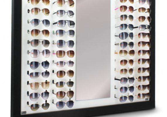 ME048 – Expositor de parede para 60 óculos