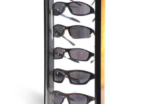 ME084 – Expositor de balcão para 6 óculos