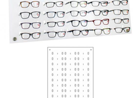 ME168 – Expositor de parede para 39 óculos