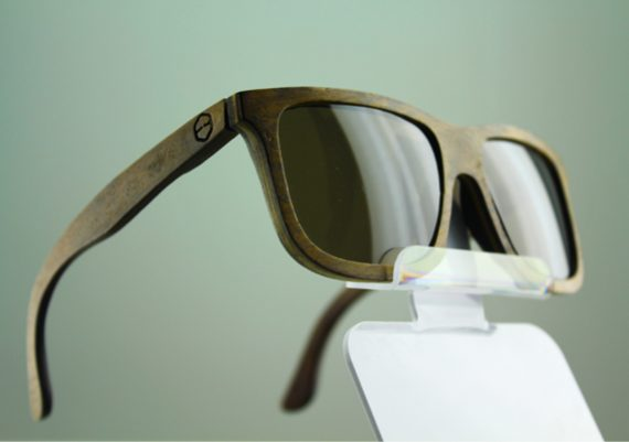ME097 Branco – Expositor de vitrine para 1 óculos