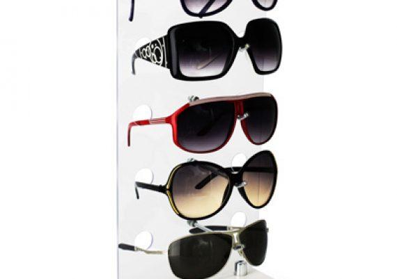 ME101 – Expositor de balcão para 5 óculos