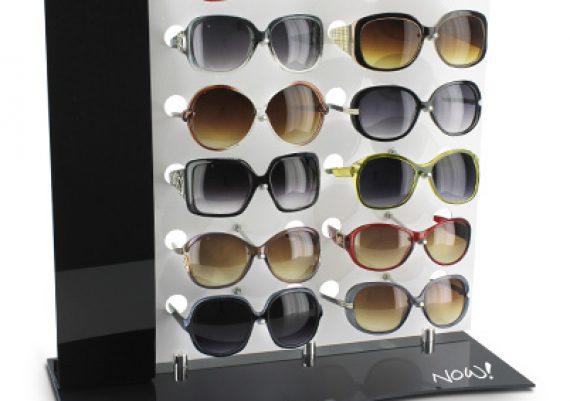 ME113 – Expositor de balcão para 12 óculos