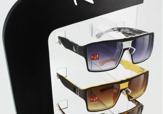 ME118 – Expositor de balcão para 6 óculos
