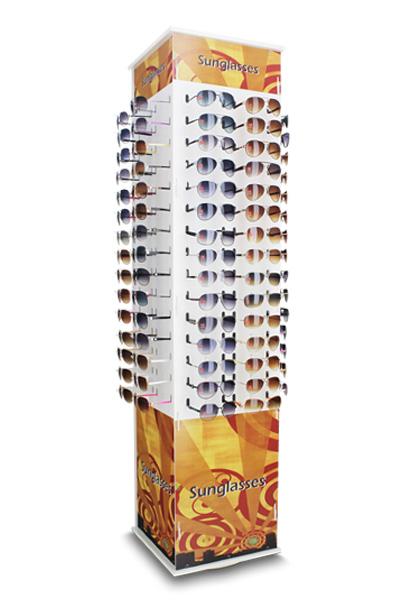f423dd61b240d ME126 – Expositor giratório de chão para 120 óculos   Mazzeo ...