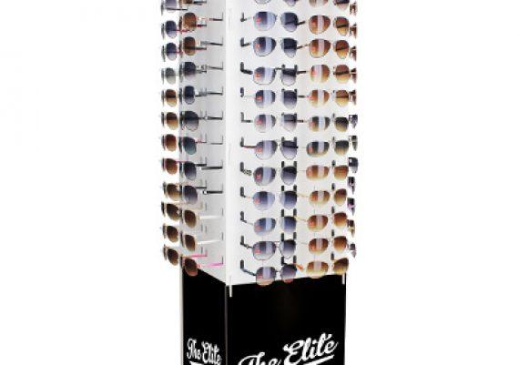 ME126 – Expositor giratório de chão para 120 óculos