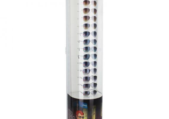 ME132 – Expositor de chão para 18 óculos
