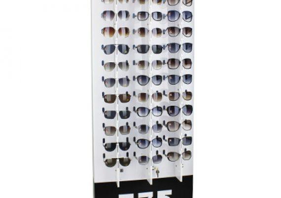 ME139 – Expositor de chão com trava para 84 óculos