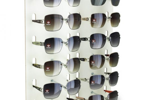 ME145 – Expositor de balcão para 12 óculos