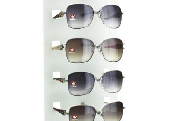 ME146 – Expositor de balcão para 5 óculos
