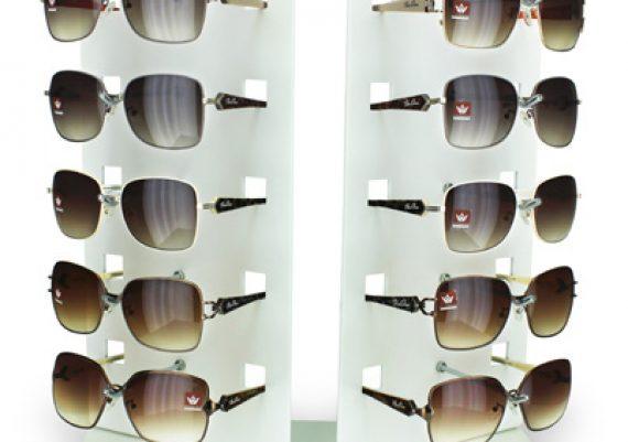 ME147 – Expositor de balcão para 10 óculos