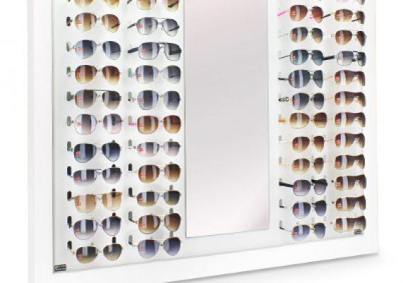 ME152 – Expositor de parede para 48 óculos