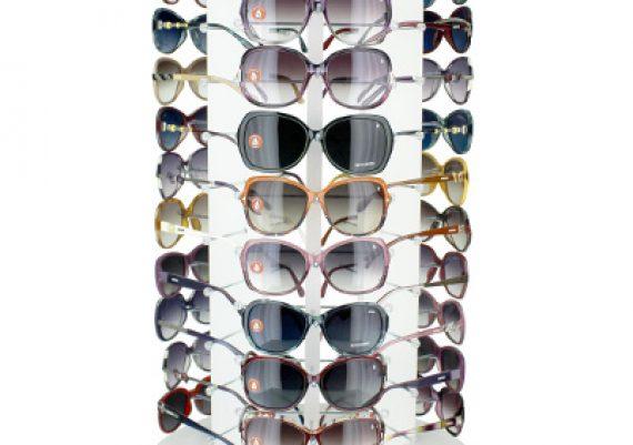 48b9101b6f842 ME162 – Expositor de balcão giratório para 33 óculos   Mazzeo ...